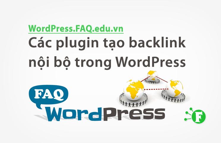 Các plugin tạo backlink nội bộ trong WordPress