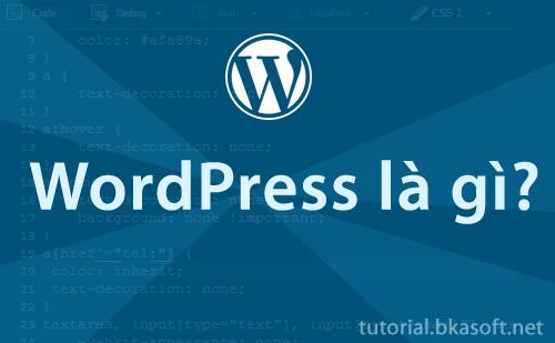 Bài 1. WordPress là gì?