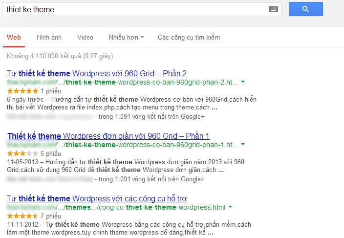 Ảnh. Vì sao Google Authorship không hiển thị avatar ở Google?
