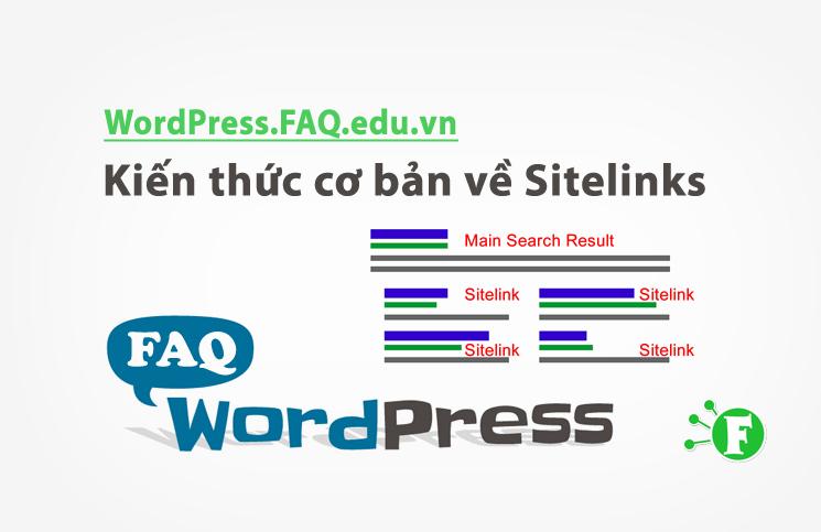 Kiến thức cơ bản về Sitelinks
