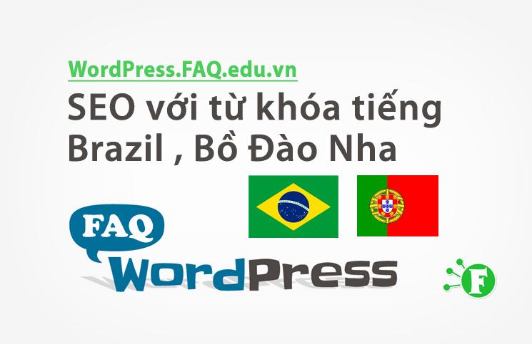 SEO với từ khóa tiếng Brazil, Bồ Đào Nha
