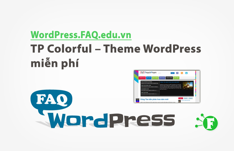 TP Colorful – Theme WordPress miễn phí