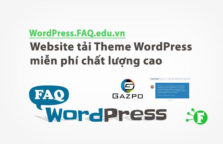 Website tải Theme WordPress miễn phí chất lượng cao