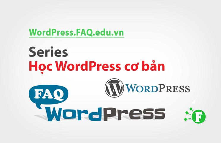 Series Học WordPress cơ bản