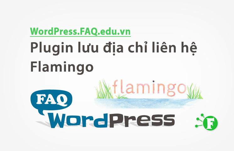 Plugin lưu địa chỉ liên hệ Flamingo