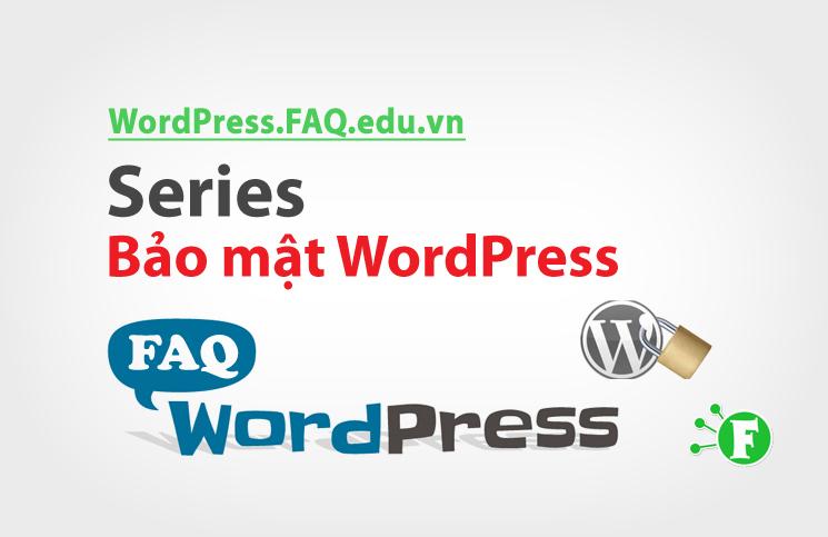 Series Bảo mật WordPress